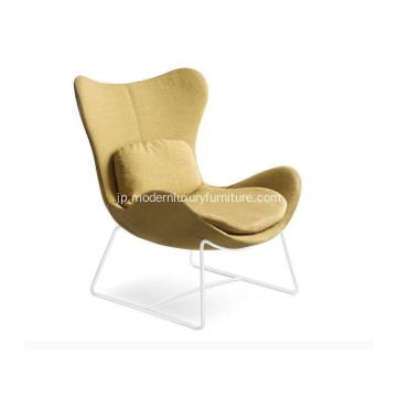 Calligaris Lazy Sled Base Armchair in Fabric