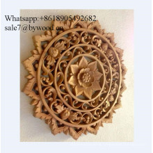Tradition handmade wall hanging carved  wood wall paneling solid wooden panel  crafts