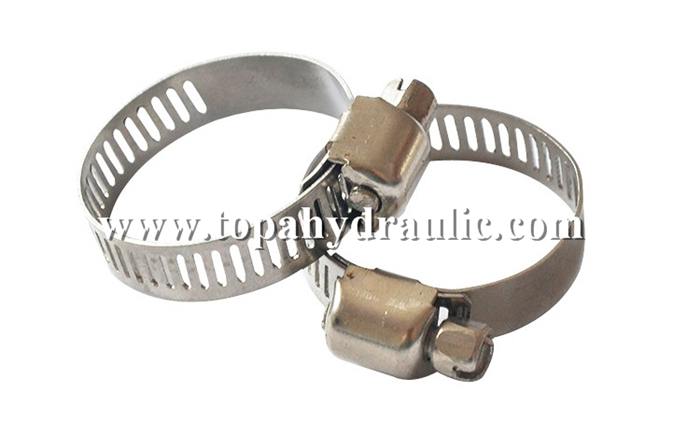Spring hose tube band small hose clamps