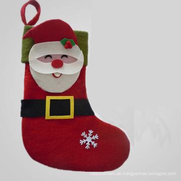 2015 heißer Verkauf Top Qualität Bester Preis Weihnachtsdekoration Strumpf