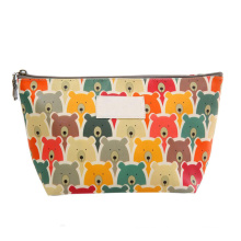 Wholesale Women Cute Printing Makeup Bags Private Label Custom Mini Makeup Cosmetic Pouch With Zipper