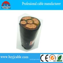 0.6 / 1kv XLPE aisló el cable de energía acorazado de la cinta de acero de la fabricación