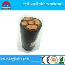 0.6 / 1kv XLPE изолированный стальной ленточный бронированный силовой кабель от производства