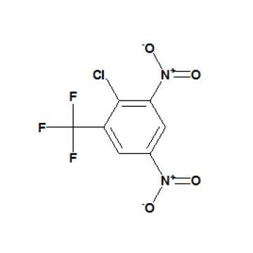 2-Cloro-3, 5-dinitrobenzotrifluoreto CAS No. 392-95-0