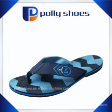 Blue and Black Thong Flip Flop Sandals Size 7 Medium