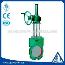 worm wheel slurry gate valve