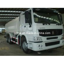 Carro del tanque de agua de la capacidad de Sinotruck HOWO 6X4 20m3 / 20000L