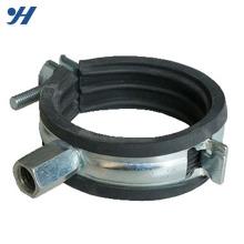 Collier de serrage galvanisé en métal supportant un collier de serrage de 4 pouces, prix du collier de serrage en fonte