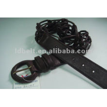 PU braided belt