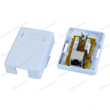Built-in Keystone Jack CAT6 Surface Mount Junction Box