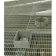 INMERSIÓN caliente galvanizó la reja de acero para estructura de acero plataforma piso