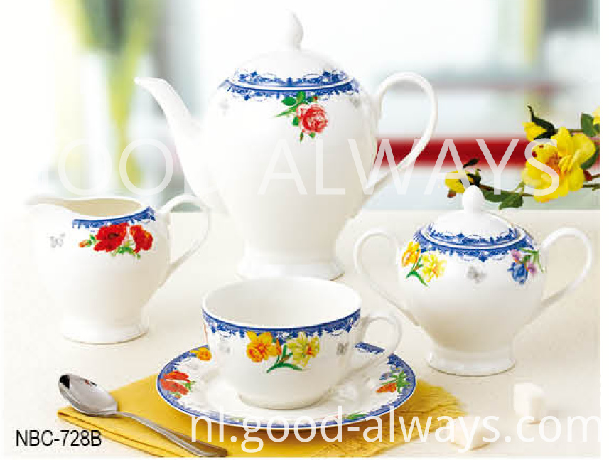 New Bone China Tea Set
