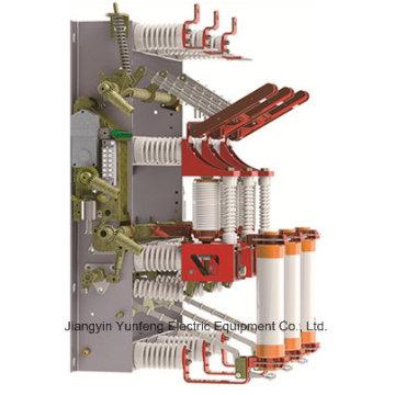 Commutateur de charge de vide de 12kv Hv avec le commutateur de mise à la terre - Fzrn16A-12D / T125-31.5