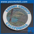 Kundenspezifische Metall-Chellenge-Hicking-Souvenir-Geocache-Münze