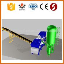 Panel táctil de planta de hormigón, Schneider PLC control planta de hormigón para la venta