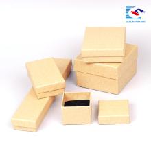 Cartón de papel de estampado en caliente para cajas de embalaje de papel kraft de relojes para regalo