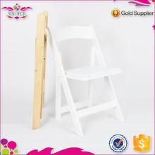 Nouvelle chaise pliante en bois de banquet de luxe de degsin Qingdao Sionfur