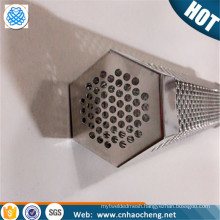 "High quality 12"" Hexagon stainless steel pellet smoker tube for outdoor bbq"
