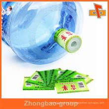 wholesale pvc shrink label for 5gal bottle cap seal packaging