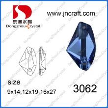 Wholesale Flat Glass in Sapphier Color (DZ-3062)