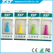 Bewegliche USB-Auto-Telefon-Aufladeeinheit mit Verpackung