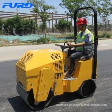 China Top Selling 800kg Double Drum Road Roller Compactor