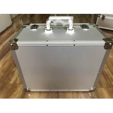 Caja de herramientas de aluminio resistente con esponja de espuma