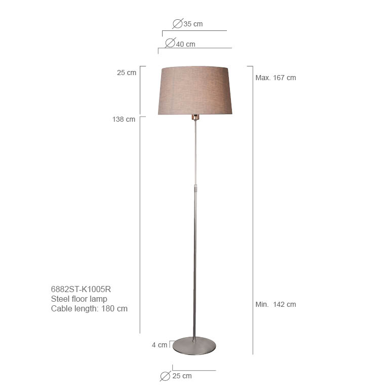 Cheaper floor lamp for living room