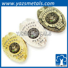 Custom State Military Badges with Person Design