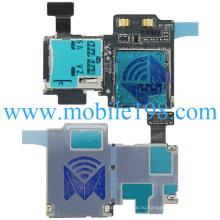 SIM-карты и SD-карты Flex кабель для Samsung Галактики S4 модели GT-i9500-темно-синий