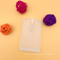 Hot Sale In Stock 20ml Black Card Type Plastic Pump Spray Bottle With For Perfume