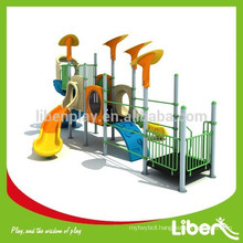 Liben Play Customized Design Outdoor Playground with Plastic Slides