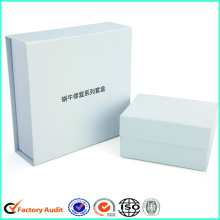 Magnetic Lid White Gift Boxes With Compartments