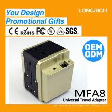 2015 Carregador de bateria portátil universal 12v, pino de carregador universal valioso para laptop