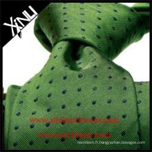 Men Luxury 100% Cravate en soie tissée à nouer