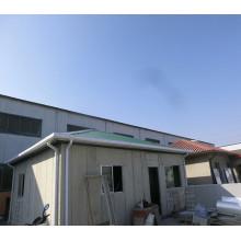 Casa aislada de acero del panel para el refugio