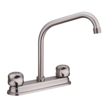 CE,IOS 9001 OEM/ODM Modern Chrome plated sink faucet, Kitchen 8inch Sink mixer
