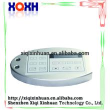 LCD Arylic permanente componen la fuente de alimentación de la máquina, digital azul verde llevó la fuente de alimentación de la pluma del tatuaje de la ceja
