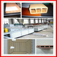 WPC PE Decking Profile Making Machinery