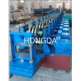 Rolled Steel Cable Tray Forming Machine , Automatic Roll Forming Machine Cr12 Cutting Plate