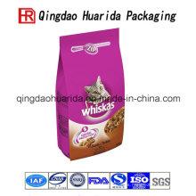 Bolsa colorida para alimentos para mascotas con diseño de costum