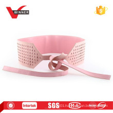 2015 Fashion pink ladies leather belts