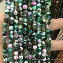 moda colorida natural ágata pedra jóias semi preciosas gemstone