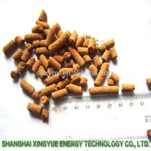 Le désulfurateur granulaire de fabricant utilisent l'oxyde de fer agent de catalyseur de récupération de soufre