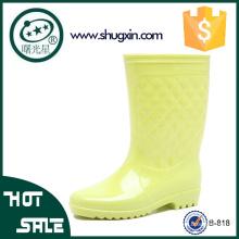 femmes mode pluie chaussures plates chaussures imperméables femmes
