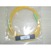 1 * 2-Ratio óptico 50: 50 Combustible óptico Couler / Splitter