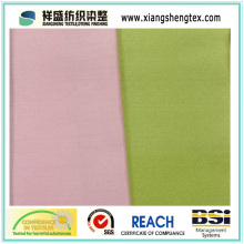 Seda teñida de hilo y tela de algodón de ambos lados