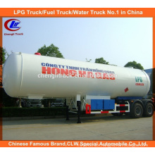 40m3 LPG Tank Delivery Trailer 40000 LPG Gas Trailer for Nigeria