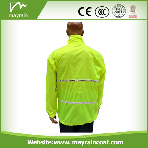 Men Polyester Long Jacket
