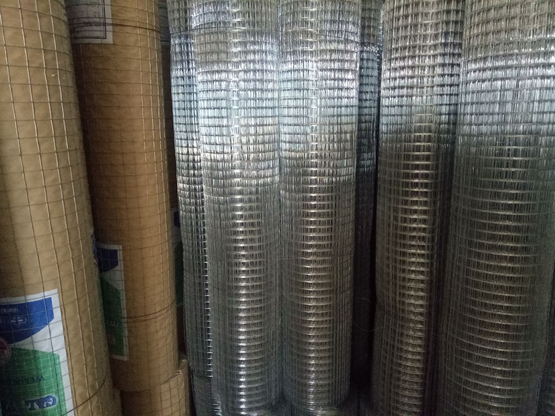 SS materials welded wire mesh